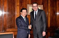 政府副总理郑廷勇高度评价维多利亚州与越南各地方的有效合作