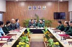 越南高级军事代表团造访印度陆军教育军官学院