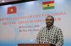 促进越南与加纳的贸易合作关系