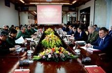 越白政府间军事技术合作联合委员会第18次会议在岘港市召开