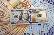 11月29日越盾对美元汇率中间价上涨4越盾
