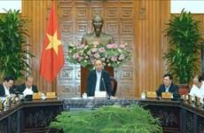政府总理阮春福就2020年第一号决议制定工作召开会议
