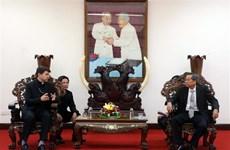 梵蒂冈驻越南非常驻代表扎莱夫斯基大主教拜访安江省领导