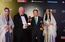 越航在2019年世界旅游奖摘下大奖