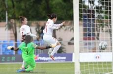 第30届东南亚运动会:越南女足6:0击败印尼队