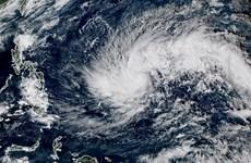 菲律宾疏散人员以躲避台风北冕