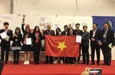 2019年INOVA国际发明比赛:越南学生代表团荣获特别奖杯和金牌