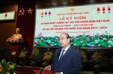 阮春福总理:越南老兵协会真正成为党、政府和人民的靠山
