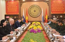 第五次越南-俄罗斯国防战略对话在芽庄市举行