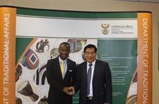 越南国会民族委员会代表团对南非进行工作访问