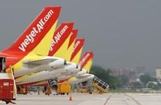 越捷航空公司在农历春节期间将增加近1200趟航班