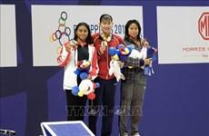 第30届东南亚运动会:阮氏映圆斩获女子200米个人混合泳金牌