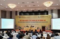 监测与评估国际研讨会在越南举行