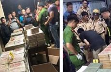 越南公安破获一起跨境贩毒案 抓获3名中国台湾毒贩