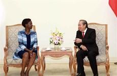 张和平副总理:越南不断为世界和平、安全与发展做出贡献