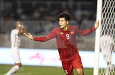 越南队4比0打败柬埔寨队 挺进决赛:何德贞在比赛中演了帽子戏法