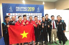 第30届东运会:越南体育代表团继续为国争金