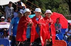 第30届东南亚运动会:越南射箭运动员摘下首枚金牌