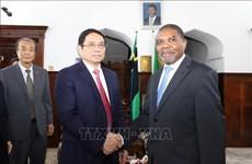 越南共产党高级代表团对坦桑尼亚进行工作访问