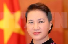 越南国会主席阮氏金银启程对俄罗斯和白俄罗斯进行正式访问