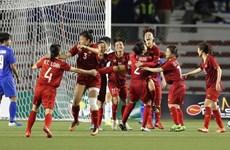 国家副主席邓氏玉盛向越南体育代表团和国家女子足球队致贺信