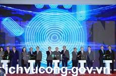 越南政府总理阮春福出席国家公共服务门户网站开通典礼