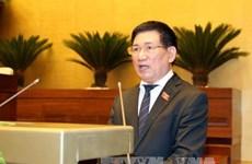越南审计署审计长胡德福访问法国