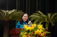 胡志明市人民议会第17次会议闭幕:全市上下团结一心 下决心完成各既定目标任务
