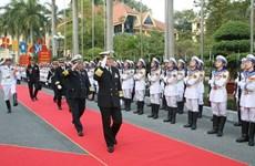 越南与日本两国海军加强合作