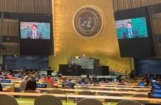 越南出席联合国关于大洋和海洋法的会议