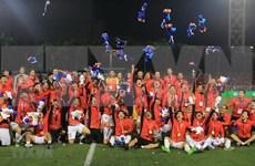 第30届东南亚运动会:亚洲媒体盛赞越南U22球队的历史性胜利