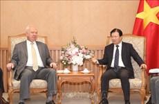 越南政府为越俄企业深化合作创造有利条件