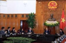 越南政府总理阮春福会见日越经济委员会代表团