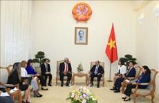越南政府总理阮春福会见古巴司法部长