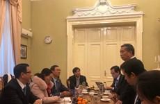 胡志明市人民议会高级代表团访问罗马尼亚