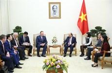 政府总理阮春福会见俄罗斯扎鲁别日石油公司总经理谢尔盖·伊万诺维奇