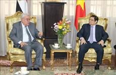 越共中央政治局委员、中央书记处书记、中央组织部部长范明正对埃及进行工作访问