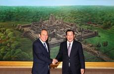 张和平建议柬埔寨支持东盟在东海问题上的共同立场