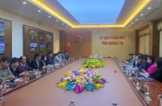 新加坡企业考察广治省航空港项目