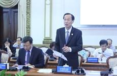 胡志明市呼吁美国企业对城市发展领域进行投资