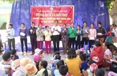 越南红十字会力争为贫困人口送上150万份慰问品