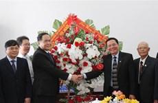 2019年圣诞节:陈青敏看望慰问得乐省和芹苴市天主教同胞