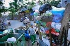 确定越南塑料污染热点地区