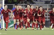 越南国家女足在2019年第四季度世界排行榜上上升2位 居亚洲第6位