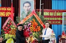 安江省领导走访慰问和好佛教信徒