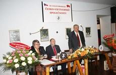 捷越友好协会为加强两国友谊作出积极贡献