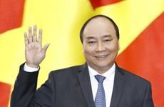越南政府总理阮春福启程对缅甸进行正式访问