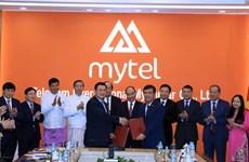 阮春福总理参观在缅的越南重点投资项目