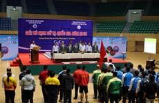 150名运动员参加2019年越南全国举重锦标赛