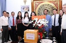 越南党和国家领导人看望慰问天主教信教群众